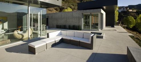 Gepolierde beton terras prijs m2